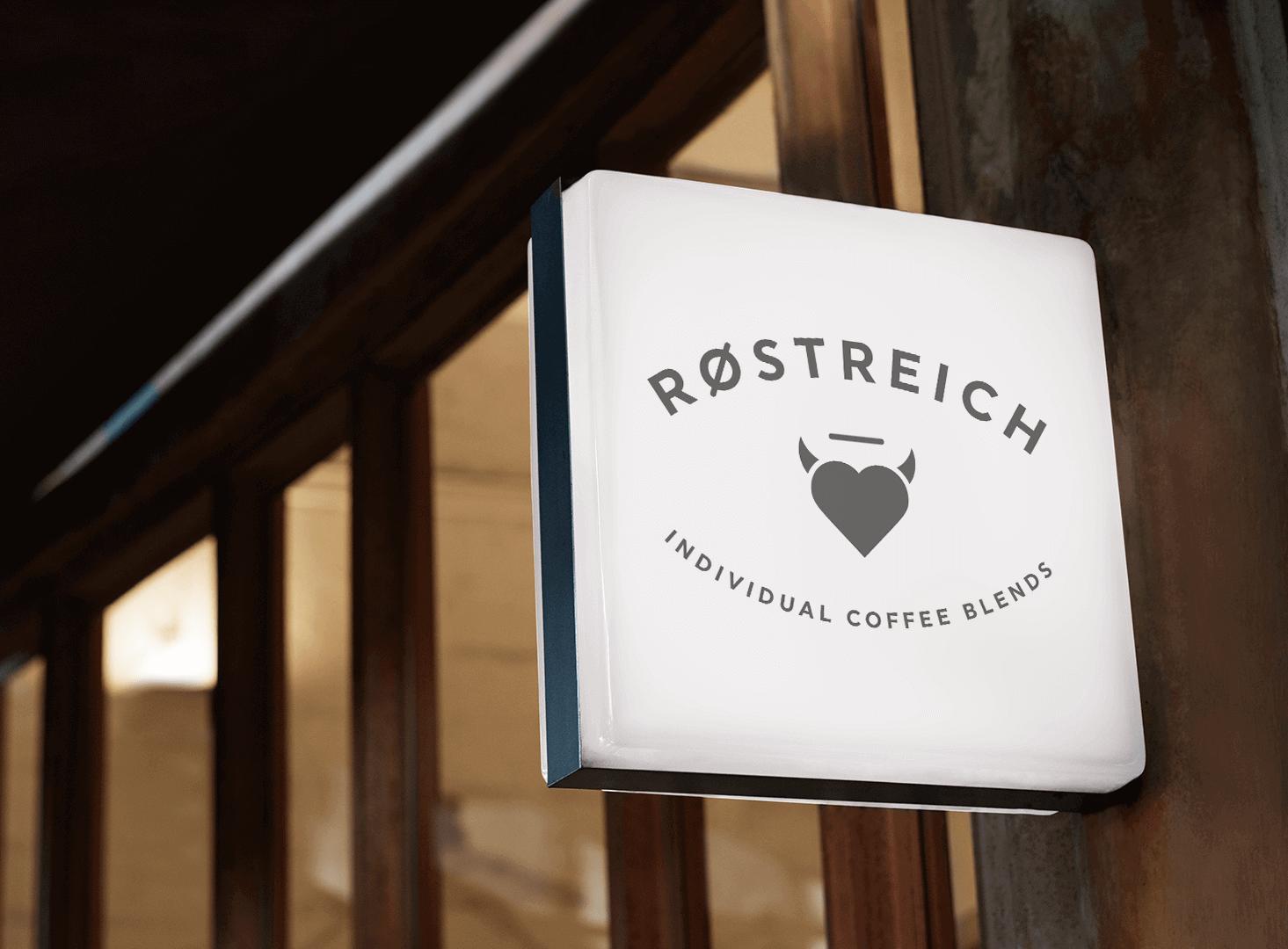 Røstreich-Sign